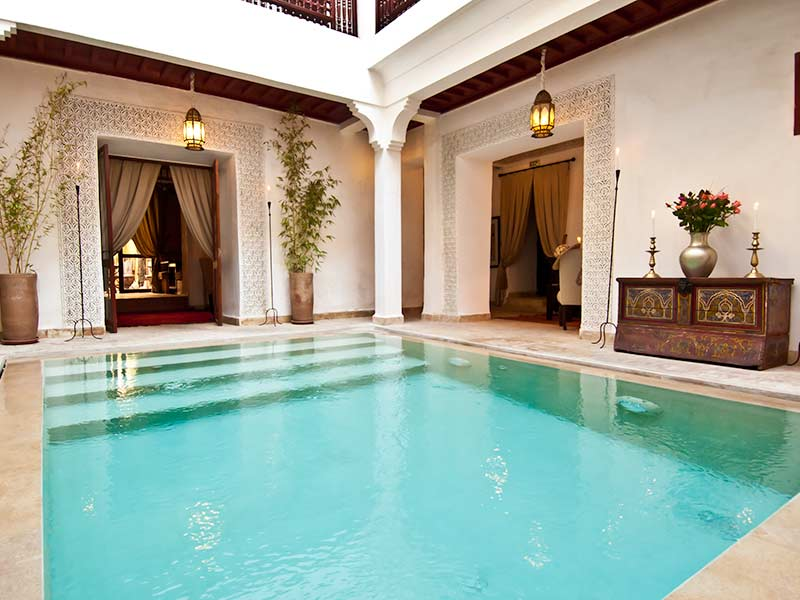Morocco swimming pool riads with swimming pools in - Riad medina marrakech avec piscine ...