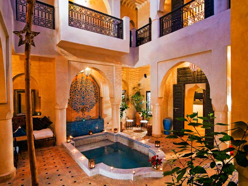 Exclusive use of Riad Papillon