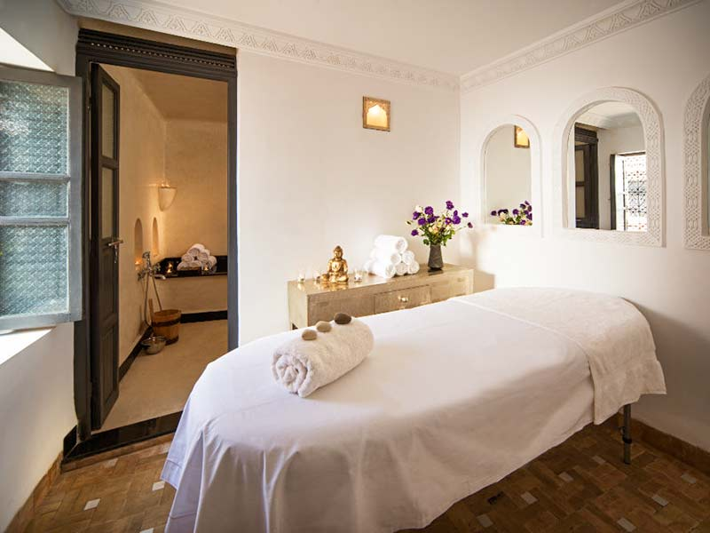 Hammam and massage suite